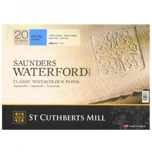 Bloco de Papel Para Aquarela Saunders Waterford TF 300g/m² 31x23cm