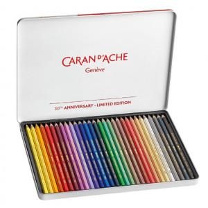 Lápis Aquarelável Supracolor Caran D'Ache 30 Cores EDIÇÃO LIMITADA