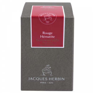 Tinta Para Caneta Tinteiro Herbin 1670 50ml Rouge Hématite
