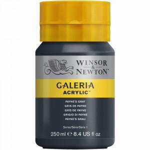 Tinta Acrílica Galeria Winsor & Newton 250ML 465 Payne's Gray