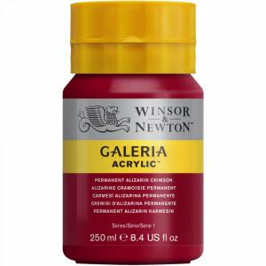 Tinta Acrílica Galeria Winsor & Newton 250ML 466 Permanent Alizarin Crimson