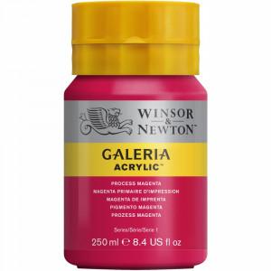 Tinta Acrílica Galeria Winsor & Newton 250ML 533 Process Magenta