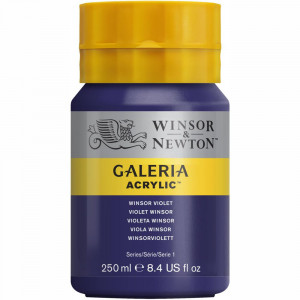 Tinta Acrílica Galeria Winsor & Newton 250ML 728 Winsor Violet