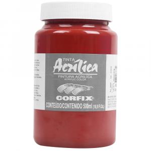 Tinta Acrílica Corfix 500ml 63 Terra Siena Queimada