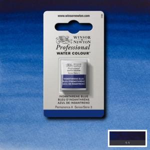 Tinta Aquarela Profissional Winsor & Newton Pastilha S3 321 Indanthrene Blue