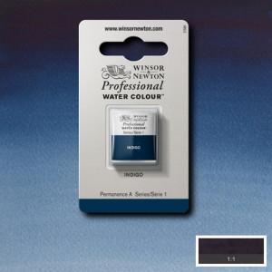 Tinta Aquarela Profissional Winsor & Newton Pastilha S1 322 Indigo