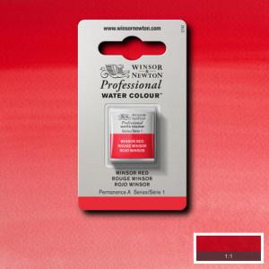 Tinta Aquarela Profissional Winsor & Newton Pastilha S1 726 Winsor Red