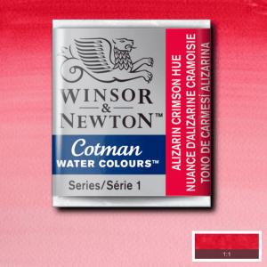 Aquarela Cotman W&N Pastilha 003 Alizarin Crimson Hue