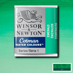 Aquarela Cotman W&N Pastilha 235 Emerald