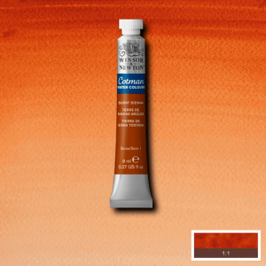 Aquarela Cotman W&N Tubo 8ml 074 Burnt Sienna