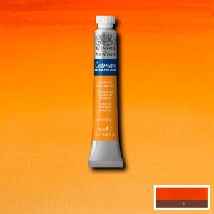 Aquarela Cotman W&N Tubo 8ml 090 Cadmium Orange Hue