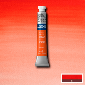 Aquarela Cotman W&N Tubo 8ml 095 Cadmium Red Hue