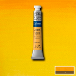Aquarela Cotman W&N Tubo 8ml 109 Cadmium Yellow Hue