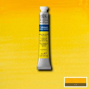 Aquarela Cotman W&N Tubo 8ml 109 Cadmium Yellow Pale Hue