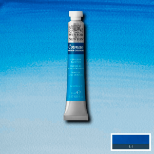 Aquarela Cotman W&N Tubo 8ml 139 Cerulean Blue Hue