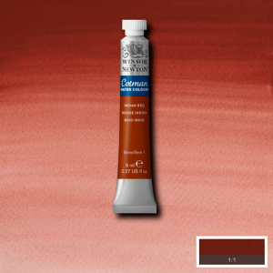 Aquarela Cotman W&N Tubo 8ml 317 Indian Red