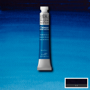 Aquarela Cotman W&N Tubo 8ml 538 Prussian Blue