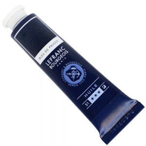 Tinta Óleo Fine Lefranc & Bourgeois 40ml 046 Prussian Blue