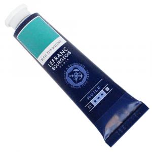 Tinta Óleo Fine Lefranc & Bourgeois 40ml 050 Turquoise Blue