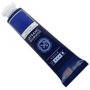 Tinta Óleo Fine Lefranc & Bourgeois 40ml 064 Cobalt Blue Hue