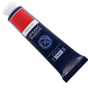 Tinta Óleo Fine Lefranc & Bourgeois 40ml 396 Bright Red