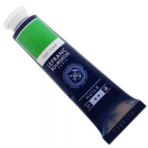 Tinta Óleo Fine Lefranc & Bourgeois 40ml 556 Light Green