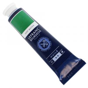 Tinta Óleo Fine Lefranc & Bourgeois 40ml 561 Medium Green
