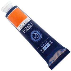 Tinta Óleo Fine Lefranc & Bourgeois 40ml 797 Cadmium Orange Hue