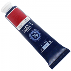 Tinta Óleo Fine Lefranc & Bourgeois 40ml 882 Cadmium Red Deep Hue
