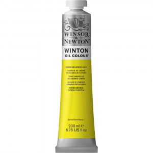 Tinta Óleo Winton 200ml Winsor & Newton 087 Cadmium Lemon Hue