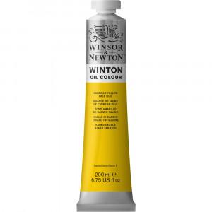Tinta Óleo Winton 200ml Winsor & Newton 119 Cadmium Yellow Pale Hue