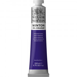 Tinta Óleo Winton 200ml Winsor & Newton 229 Dioxazine Purple