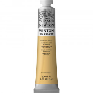 Tinta Óleo Winton 200ml Winsor & Newton 422 Naples Yellow Hue
