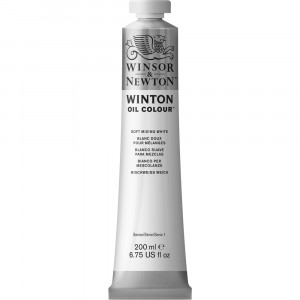 Tinta Óleo Winton 200ml Winsor & Newton 415 Mixing White