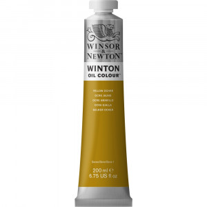 Tinta Óleo Winton 200ml Winsor & Newton 744 Yellow Ochre