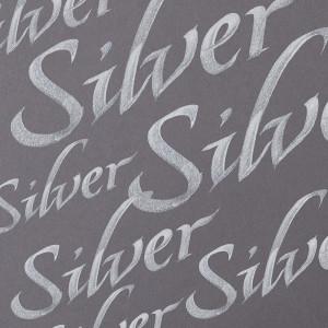Tinta Para Caligrafia Winsor & Newton 30ml Silver
