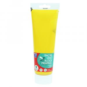 Tinta Para Linoleogravura Lefranc & Bourgeois 250ml 218 Gold Yellow