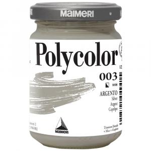 Tinta Acrílica Polycolor Maimeri 140ml 003 Silver
