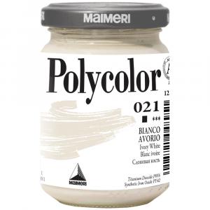 Tinta Acrílica Polycolor Maimeri 140ml 021 Ivory White