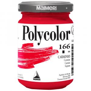 Tinta Acrílica Polycolor Maimeri 140ml 166 Carmine