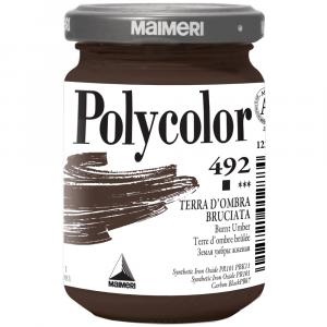 Tinta Acrílica Polycolor Maimeri 140ml 492 Burnt Umber