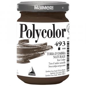 Tinta Acrílica Polycolor Maimeri 140ml 493 Raw Umber