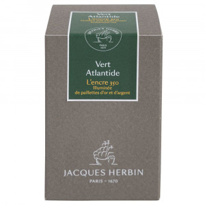 Tinta Para Caneta Tinteiro Herbin 1670 50ml Vert Atlantide