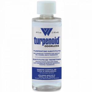 Turpenoid Odorless 118ml Weber Art
