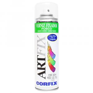 Verniz Fixador Spray Artfix Fosco 210g Corfix