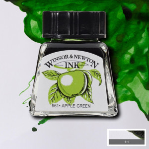 Tinta para Desenho Winsor & Newton 14ml Apple Green 011