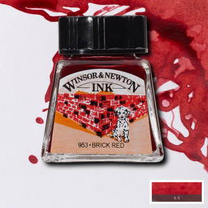 Tinta para Desenho Winsor & Newton 14ml Brick Red