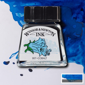 Tinta para Desenho Winsor & Newton 14ml Cobalt 176