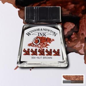 Tinta para Desenho Winsor & Newton 14ml Nut Brown 441