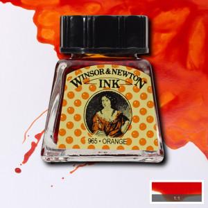Tinta para Desenho Winsor & Newton 14ml Orange 449